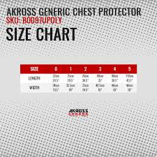 Chest Protector Size Chart Taekwondo Reversible Chest Protector