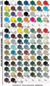 Tamiya Lacquer Paint Chart Complete Tamiya Paint Deal 102 Bottles Every Color