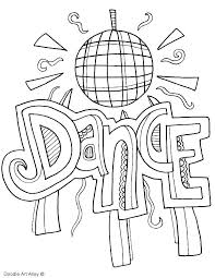 Tap Dance Coloring Pages Free Printable Fre Acnee