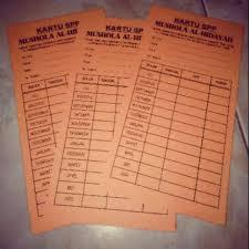 Contoh format kartu inventaris ruangan sekolah. Cetak Kartu Iuran Spp Kartu Hadir Pembayaran Tabungan Sampul Dll Custom Shopee Indonesia