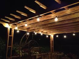 string bulbs outdoor lighting perfect globe lights