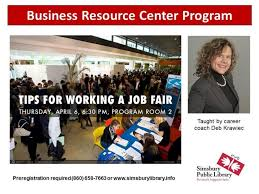 What Happens At A Job Fair Apr 6 Tips For Working A Job Fair Simsbury Ct Patch