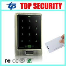 <b>DIYSECUR</b> 8000 Users Touch Button 125KHz <b>Rfid Card</b> Reader ...