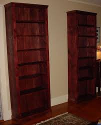 dark cherry wall shelves classy cherry wood bookcase table with four chairs and bench