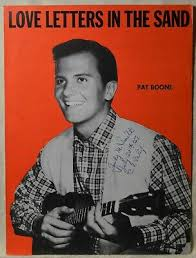 Notes and visual tutorial shown! Pat Boone Love Letters In The Sand Vintage Sheet Music Piano Vocal Pop Teen Idol Ebay