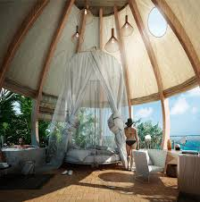 Loeffler Furniture Design Center Human Cocoons Feature At Mexican Resort Dedicated To The