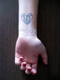 Tattoo Nápady Jméno