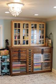 hamilton printers cabinet drawer for sewing and craft storage samantha walker studio remodel