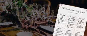 Planning a Dinner Party: Your Checklist - La Crema