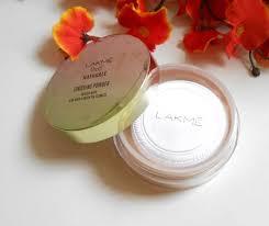 lakme 9 to 5 naturale finishing powder open