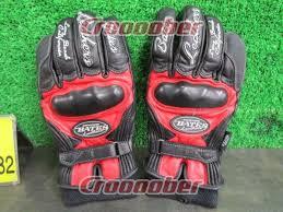 bates leather gloves size l cut