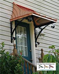 the juliet gallery copper awnings projects of awnings pertaining to front door design 6