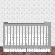 woodland nursery baby crib bedding