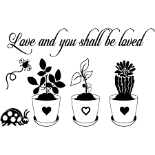 Sticker Citation Love And You Shall Be Loved Stickers Stickers