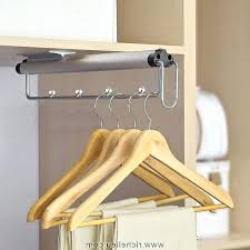 Pull Out Coat Rack Gorgeous Pull Out Closet Rod Down Viaplanetvox