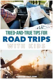 low stress family road trip
