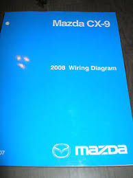 2008 mazda cx 9 wiring diagram service manual shop repair image is loading 2008 mazda cx 9 wiring diagram service manual