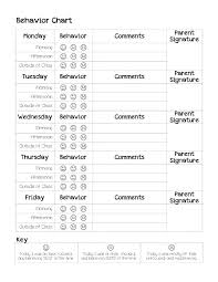 Kids Behavior Chart Template Templates For Flyers In Publisher Kids Chart Template