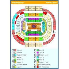 Arizona Mckale Center Seating Chart 25 All Inclusive Seating Chart Cardinals Stadium Glendale
