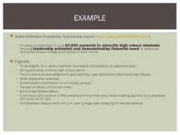 Jackie Robinson Scholarship Essay Examples   Example Good Resume