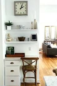 tiny office space. Decoration: Tiny Office Space The Chic Technique We Love This Home Nook A Set Of S
