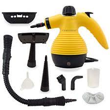 Nettoyeur Vapeur à Main, Nettoyeur à Vapeur Portable Multi Usage Sous  Pression Avec 9