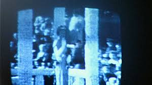 watching tv in the dark. watching television tv in dark room broadcast 1960s vintage film home movie 232 stock video footage - videoblocks tv the i