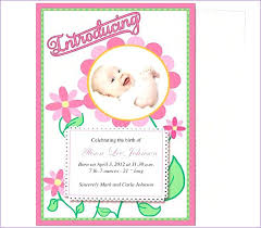 Template For Birth Announcement Baby Announcement Cards Free Template Yupar Magdalene