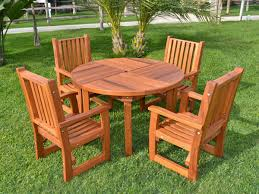 round terrace dining table options 4 4 chairs redwood