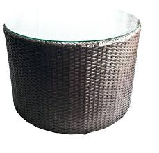 round rattan coffee table round wicker coffee table interior design directory round rattan coffee table canada