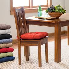 how to make kitchen chair cushions with ties chairs dining chair seat cushions walmart