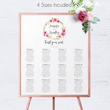 Wedding Chart Seating Template Best Wedding Seating Chart Template Products On Wanelo
