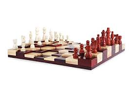 Exceptional Multi Level Chess Board Game Set   Unique Present For Adults U0026 Kids
