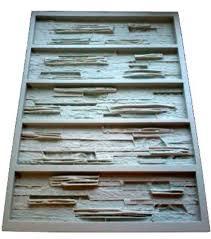 Decorative Cement Tiles Polyurethane Molds for Concrete Plaster Wall Stone Cement Tiles 98