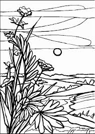 landscapes coloring pages printable of landscape coloring pages colouring book