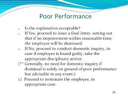 Lease Termination Letter For Poor Performance Work Sample Employee ...