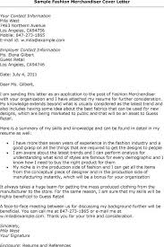 Visual Merchandiser Cover Letters Cover Letter Template Visual Merchandiser Resume Email