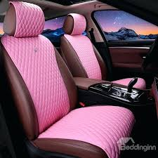 girl car seat covers girly design soft pink leather universal fit car seat covers pink car