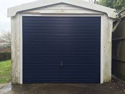 garador steel up and over garage door installed in lacey green buckinghamshire by shutter spec