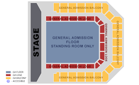 Aragon Ballroom Seating Chart General Admission Electric