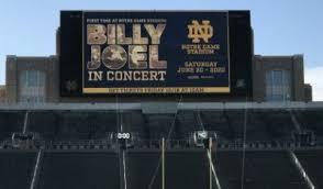 Notre Dame Stadium Seating Chart Garth Brooks Billy Joel To Play Notre Dame Stadium On June 20 2020
