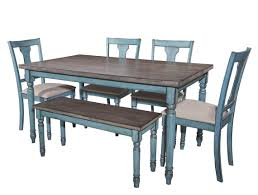 blue dining room set. Contemporary Room Powell Furniture Willow 6pc Dining Room Set Click To Enlarge  Throughout Blue I