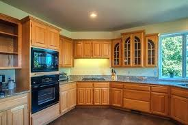 kitchen color ideas with light oak cabinets. Kitchen Colors Ideas With Oak Cabinets Honey And Black . Color Light W