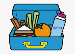 Packed Lunch Illustration - Healthy Lunch Box Clipart, HD Png Download -  kindpng