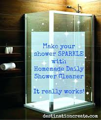 how hard water stains on glass to get spots off shower doors