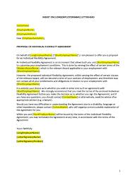 Workplace Agreement Template Hr Advance Individual Flexibility ...