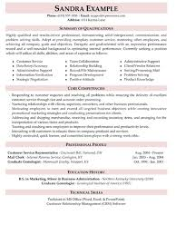 resume profile for customer service beautiful profile summary resume contemporary simple resume