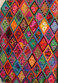Quilt Vine: Yes, I Still Quilt. Kaffe Fassett Diamonds quilt by ... & When I saw the Bordered Diamonds quilt in Kaffe Fassett& book, Simple  Shapes Spectacular Quilts , I knew immediately that it would be a per. Adamdwight.com