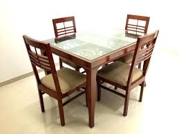 metal base wood top dining table glass top dining table elegant wooden round glass top dining