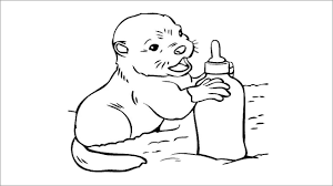 In fact, the name coloring pages doesn't really do justice to the sheer variety of resources we've got here. Otter Coloring Pages Coloringbay Baby Turtle Squirt Beanie Peeps Littles Webkinz Raccoon Grandma Alligator Stuffed Doll Piglet Rainbow Fish Oguchionyewu